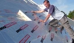 Isolation de toitures