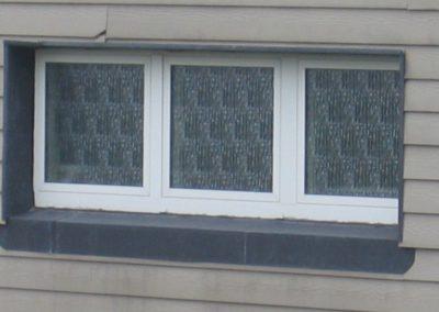 Ramackers: bardage fenêtres