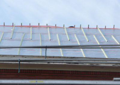 Préparation de la base d'une nouvelle toiture